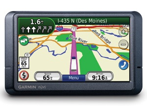 Garmin nuvi 465T GPS for Long Haul Navigation