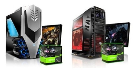 iBuyPower Gamer Fire 640 and Gamer Paladin F830 Desktops with GeForce 3D Vision