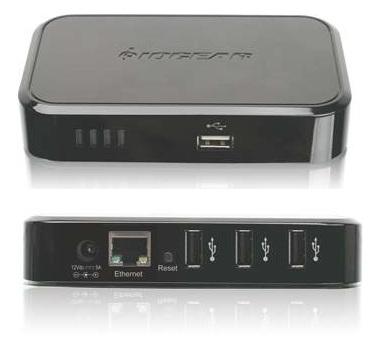 IOGEAR GUIP204  4-port  USB Net ShareStation