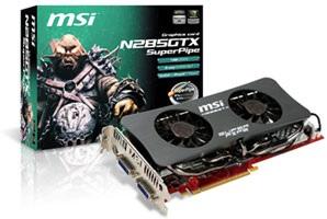 MSI N285GTX SuperPipe Graphics Card