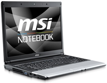 MSI VR430 AMD Turion X2-Powered Notebook