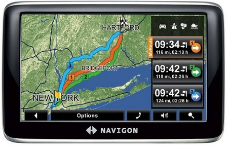 Navigon 4300T max GPS device