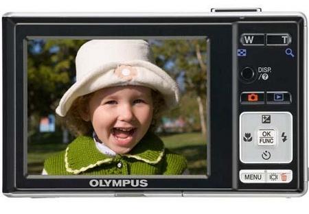 Olympus X890 digital camera Back