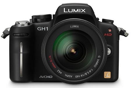 Panasonic Lumix DMC-GH1 HD Capable DSLR Camera