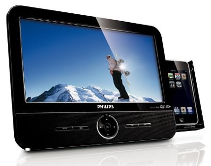 Philips DCP951/37 Portable DVD Player with iPod Dock