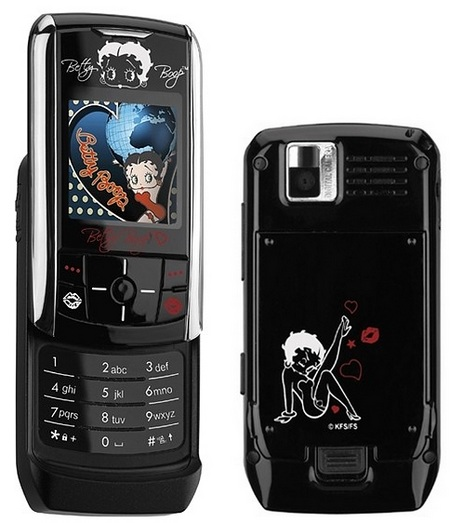Samsung Betty Boop Limited Edition Slider Phone