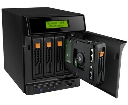 Seagate BlackArmor NAS 440 and NAS 420 storage servers