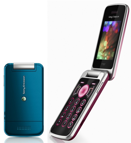 Sony Ericsson T707 - Maria Sharapova's phone
