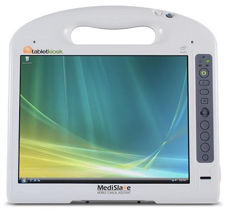 TabletKiosk MediSlate MCA i1040XT for Healthcare