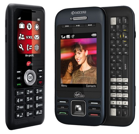 Virgin Mobile Kyocera Jax and X-tc Mobile Phones