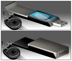 Ennova OLED Biometric USB Flash Drive