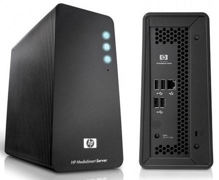 HP MediaSmart LX195 Atom-based Home Server
