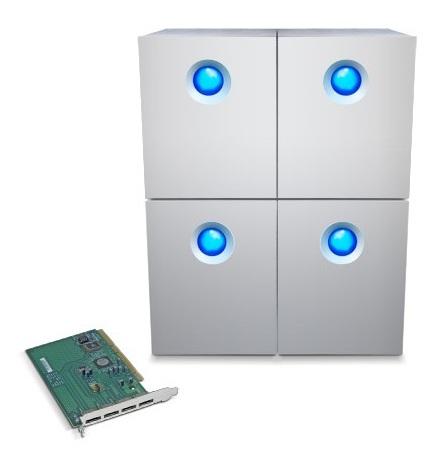 LaCie 4big Quadra Bundle 32TB RAID solution