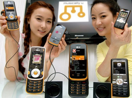 LG GM310, GM210 and GM205 Music Phones