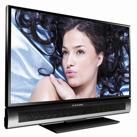 Mitsubishi Unisen LCD HDTV with Dolby Digital 5.1