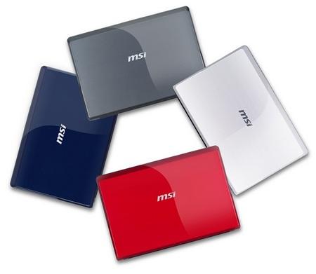 MSI WIND U123 Netbook