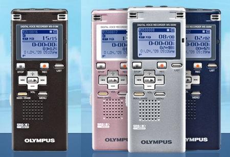 Olympus WS-510M, WS-500M digital voice recorder