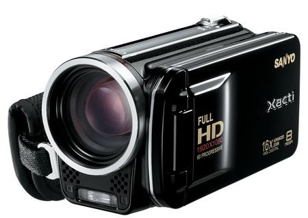 Sanyo Xacti VPC-FH1 camcorder Black