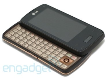 AT&T LG Monaco QWERTY Slider runs Windows Mobile 7?