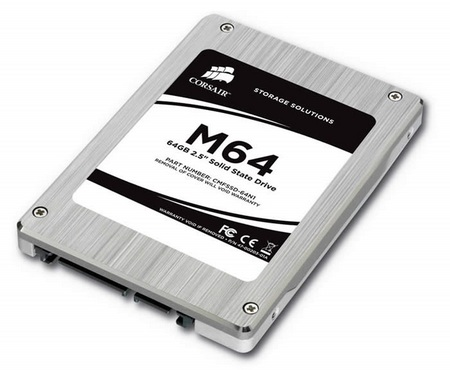 Corsair M64 64GB SSD launches