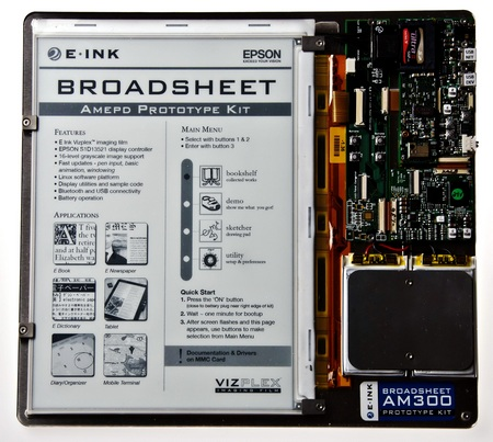 E-ink 9.7-inch AM-300 EPD Prototype Kits