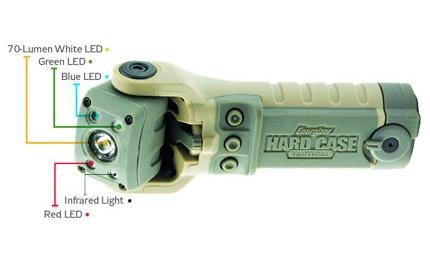 Energizer Hard Case Tactical LED Flashlight