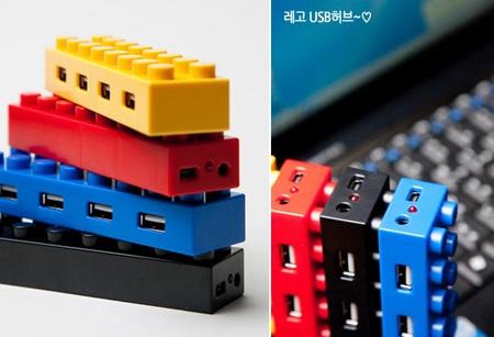 LEGO 4-Port USB Hub