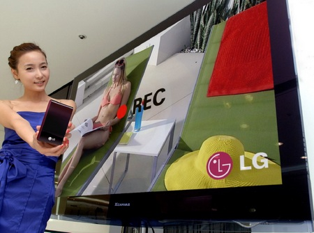 LG X-Canvas 50PS70 and 60PS70 Plasma HDTV with Time Machine