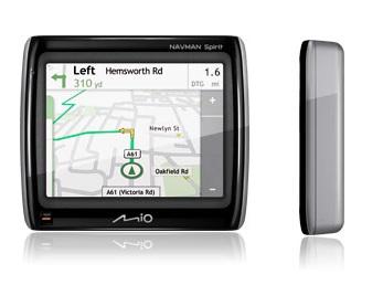 Mio Navman Spirit 300 GPS Navigation Device