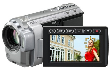 Panasonic HDC-TM10 8GB World Lightest Full-HD Camcorder