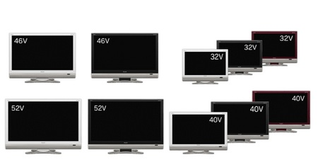 Sharp updates AQUOS D Series LCD HDTV
