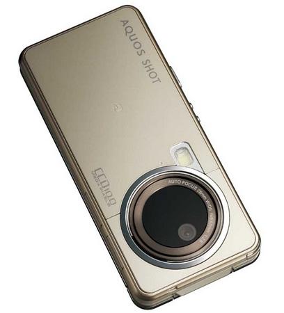 Softbank Sharp AQUOS SHOT 933SH 10 megapixel camera