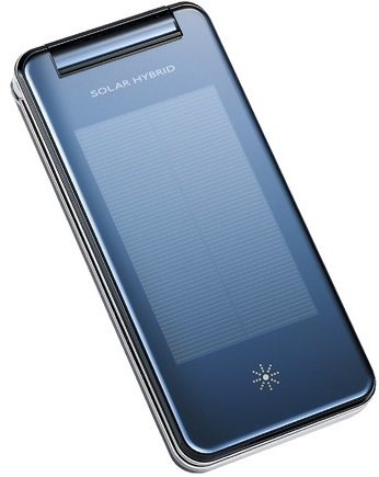Softbank Sharp Solar Hybrid 936SH Solar Phone