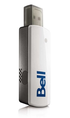 Bell Novatel Wireless U760 USB EVDO Modem