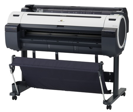 Canon imagePROGRAF iPF755 and iPF750 large format printer