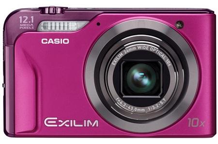 Casio EXILIM EX-H10 10X Zoom Camera pink