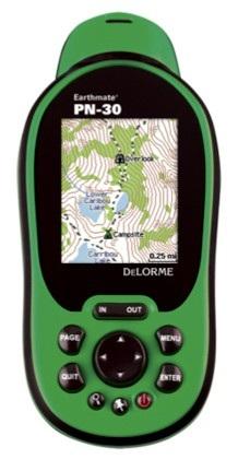 DeLorme Earthmate PN-30 Handheld GPS Device