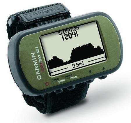 Garmin Foretrex 401 and 301 Wearable GPS Navigators