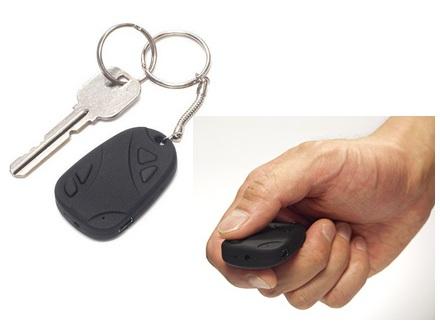JTT Keychain Spy Camera