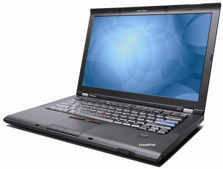 Lenovo ThinkPad T400s Ultra portable Notebook front
