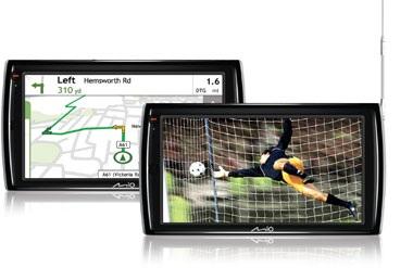 Mio Navman Spirit TV V735 GPS navigator digital TV