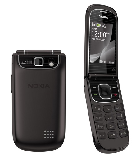 Nokia 3710 fold Clamshell Phone Black