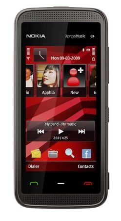 Nokia 5530 XpressMusic Touch Phone Brown