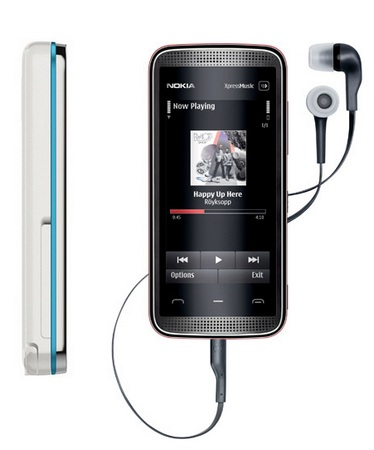 Nokia 5530 XpressMusic Touch Phone 2