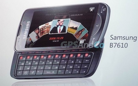 Samsung B7610 Louvre QWERTY Phone Leaked