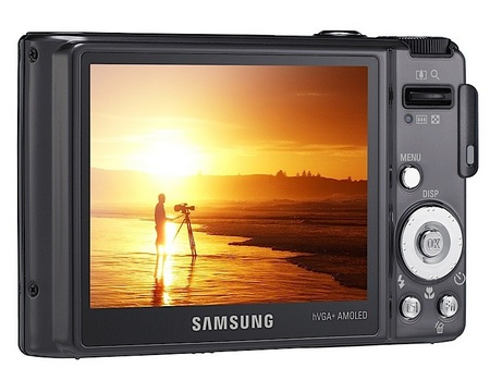 Samsung WB1000 Digital Camera back