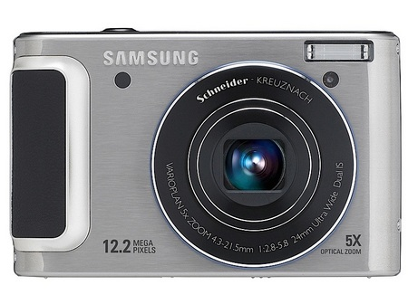 Samsung WB1000 Digital Camera silver front