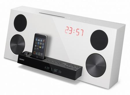 Sony CMT-Z100DiR ipod audio system white
