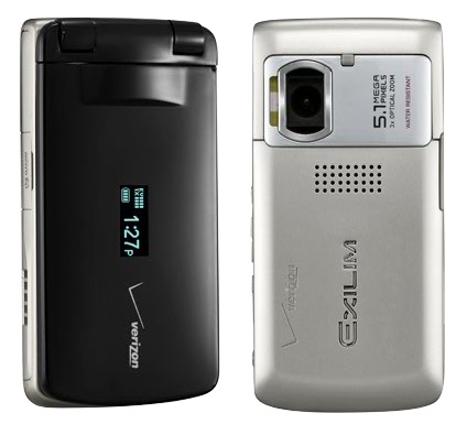 Verizon Casio EXILIM 5Mpix Clamshell phone 2
