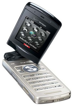 Verizon Casio EXILIM 5Mpix Clamshell phone